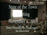 State of the Town Part 1 2010 Nov 6