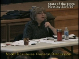 State of the Town Part 2 2010 Nov 6