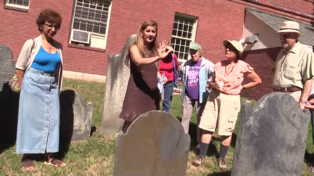2016 August 22 Cemetery Walk and Talk
