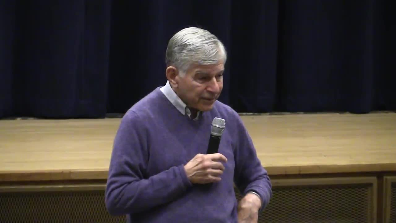 2016 May 4 Governor Michael Dukakis