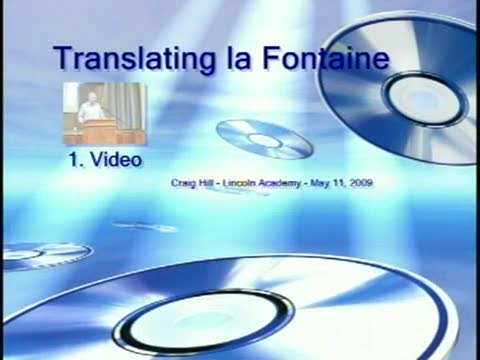 Translating la Fontaine