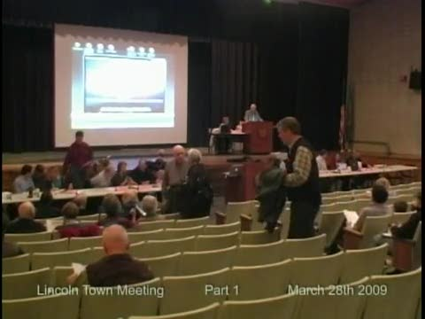 Town Meeting 2009 (Part 1)
